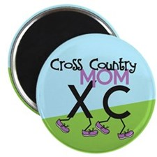 "Cross Country Mom 2.25"" Magnet (10 pack)"