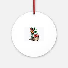 Tomato Ornament (Round)
