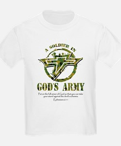 A Soldier in God's Army T-Shirt