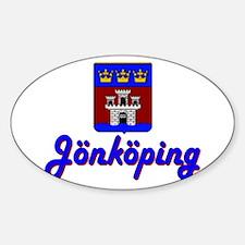 Jönköping County Oval Decal