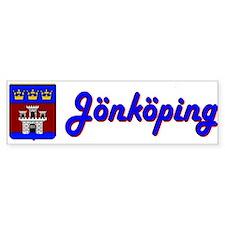 Jönköping County Bumper Bumper Sticker