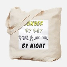 Runner by Day Ninja by Night Tote Bag