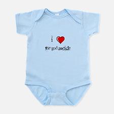 i love THE GOD PARTICLE shirt Higgs-Boson Infant B