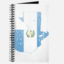Guatemala Flag And Map Journal