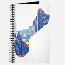 Guam Flag And Map Journal