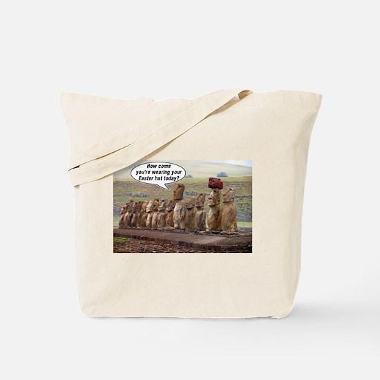 Easterislandhatmeme Tote Bag