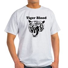 Tiger Blood Custom T-Shirt