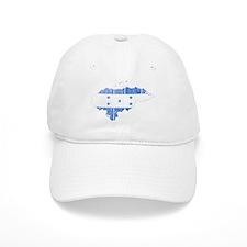 Honduras Flag And Map Cap