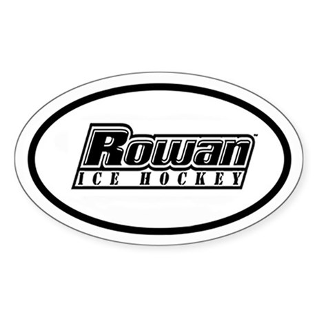 Rowan Hockey Oval Sticker (2 colors)