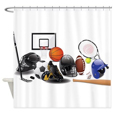 iSports Shower Curtain