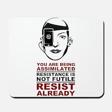 Resist Already Mousepad