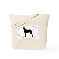 CC Retriever Silhouette Tote Bag