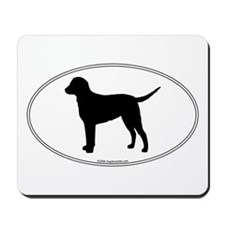 CC Retriever Silhouette Mousepad