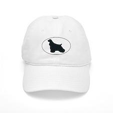 Cocker Spaniel Silhouette Baseball Cap