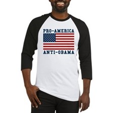 Pro-America Anti-Obama Baseball Jersey