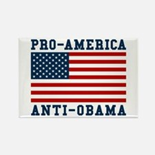 Pro-America Anti-Obama Rectangle Magnet
