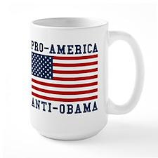 Pro-America Anti-Obama Mug
