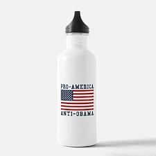 Pro-America Anti-Obama Water Bottle
