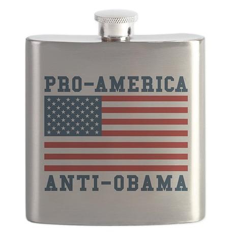 Pro-America Anti-Obama Flask