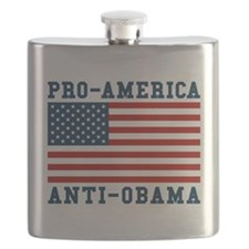 Pro-America Anti-Obama Flask