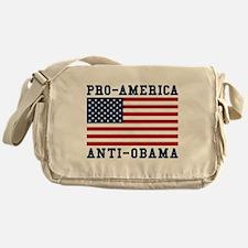 Pro-America Anti-Obama Messenger Bag