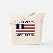 Pro-America Anti-Obama Tote Bag