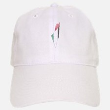 Palestine Flag And Map Baseball Baseball Cap