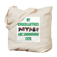 Cute Kindergartners Tote Bag