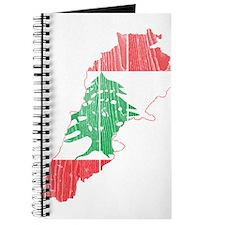 Lebanon Flag and Map Wood.png Journal