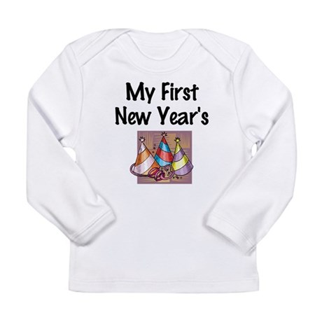 My First New Year's Long Sleeve Infant T-Shirt