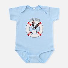 Boston Terrier First Mate Infant Bodysuit