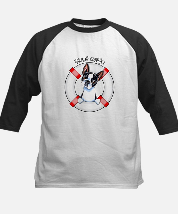 Boston Terrier First Mate Tee