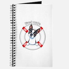 Boston Terrier First Mate Journal