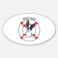Boston Terrier First Mate Decal