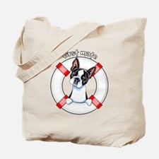 Boston Terrier First Mate Tote Bag