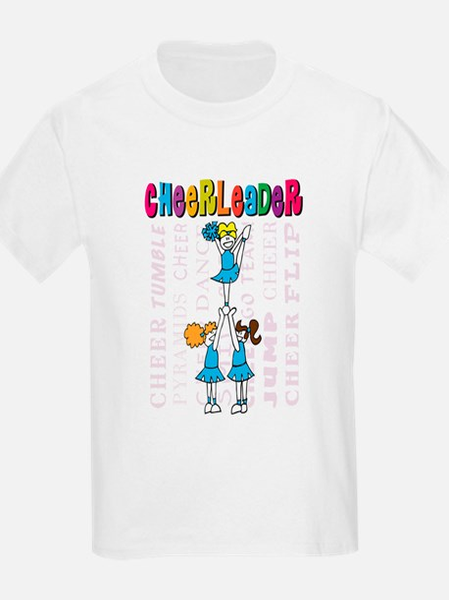 Cheerleader Youth Design T-Shirt