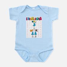 Cheerleader Youth Design Infant Bodysuit