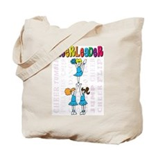 Cheerleader Youth Design Tote Bag