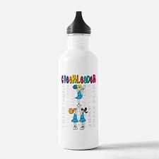 Cheerleader Youth Design Water Bottle