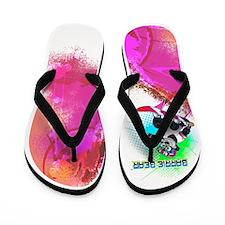 Funny Barry Flip Flops