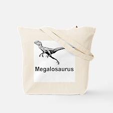 Megalosaurus Tote Bag (Design on both sides)