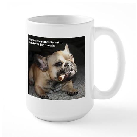 Hand Over the Treats Large Mug