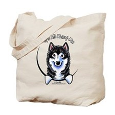 Alaskan Malamute IAAM Tote Bag