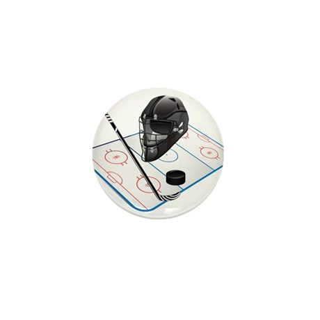 Hockey Mini Button (100 pack)