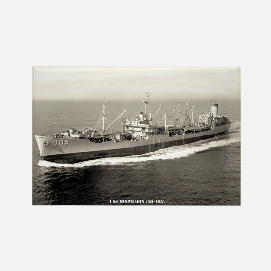 USS MISPILLION Rectangle Magnet