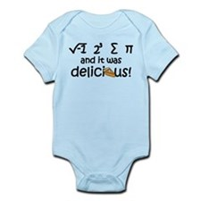 I 8 sum pi and it was delicious Infant Bodysuit