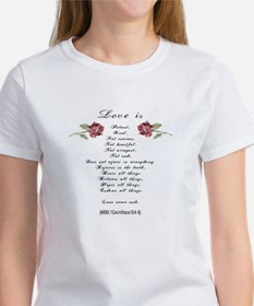 Love Is w Roses T-Shirt