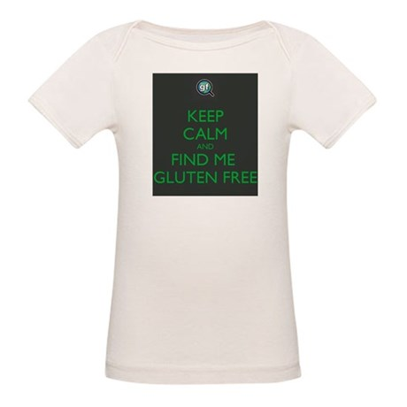 Keep Calm and Find Me Gluten Free Organic Baby T-S