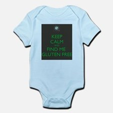 Keep Calm and Find Me Gluten Free Infant Bodysuit