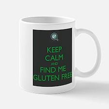 Keep Calm and Find Me Gluten Free Mug